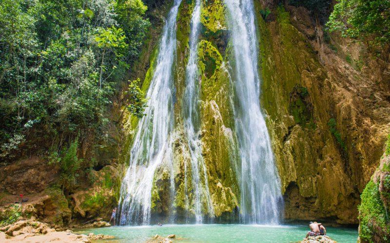 El-Salto-del-Limón-Waterfall-Samana-by-Patrick-Bennett